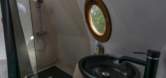 Dome géodésique pour deux avec jacuzzi, Soorts Hossegor