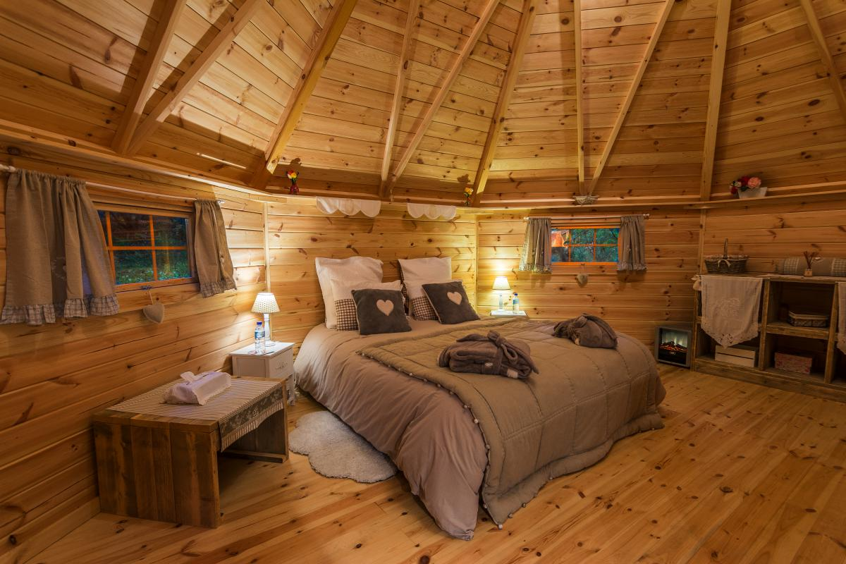 Location chalet insolite soorts hossegor pour deux for Chambre insolite
