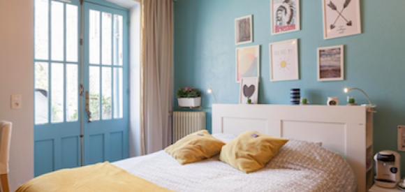 Chambre avec jacuzzi en bord de Garonne