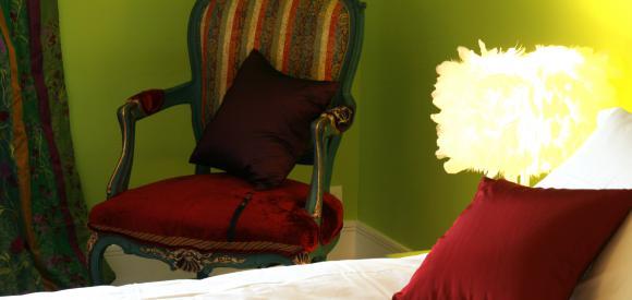 Chambre romantique pour deux avec terrasse avec vue, Guéthary