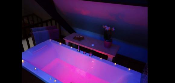 Loft privatif avec jacuzzi et sauna infra-rouge près Le Touquet