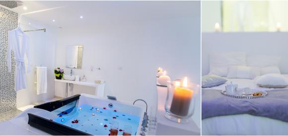 Loft romantique - blanc pour deux personnes avec jacuzzi, Bordeaux