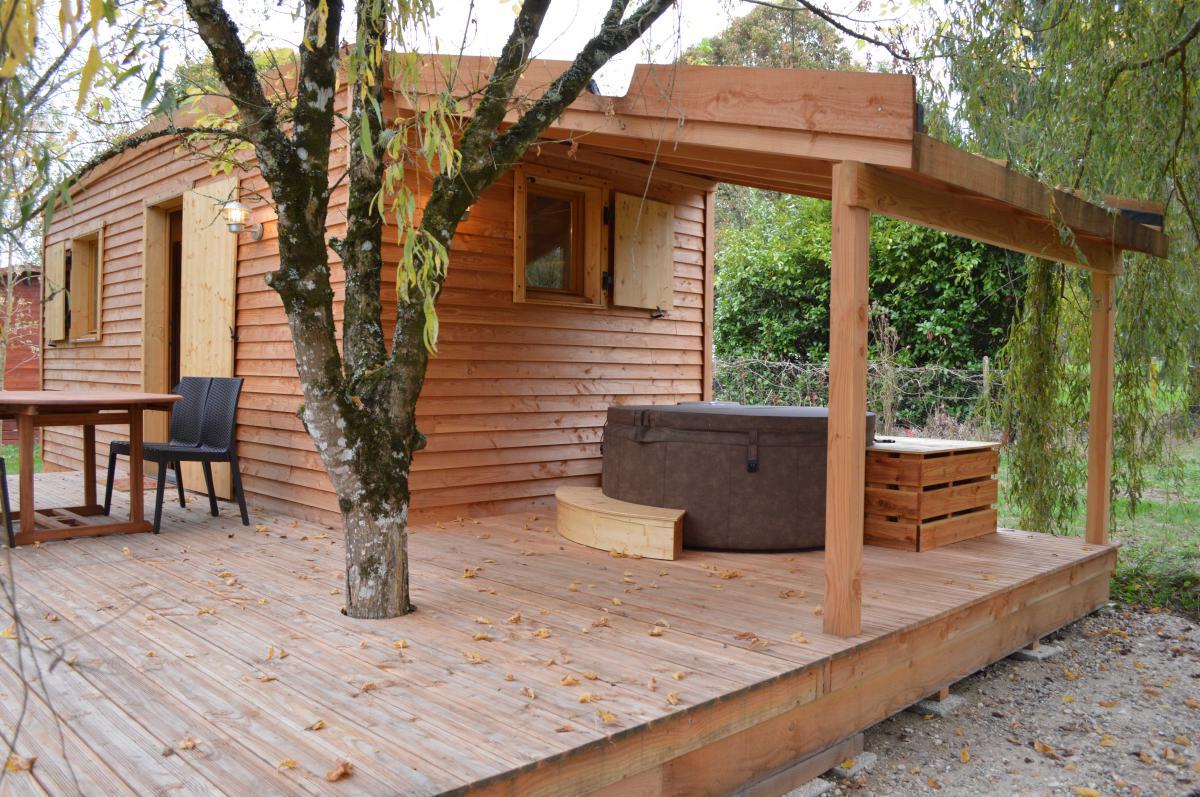 Cabane Avec Spa Privatif Gironde