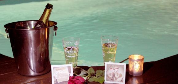 Chalet pour amoureux avec piscine et spa privatif, Biscarrosse