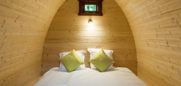 Dormir dans un POD, près de Bordeaux