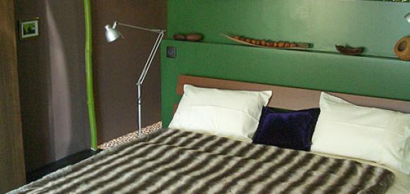 Chambre exotic avec Jacuzzi, Cap-Ferret