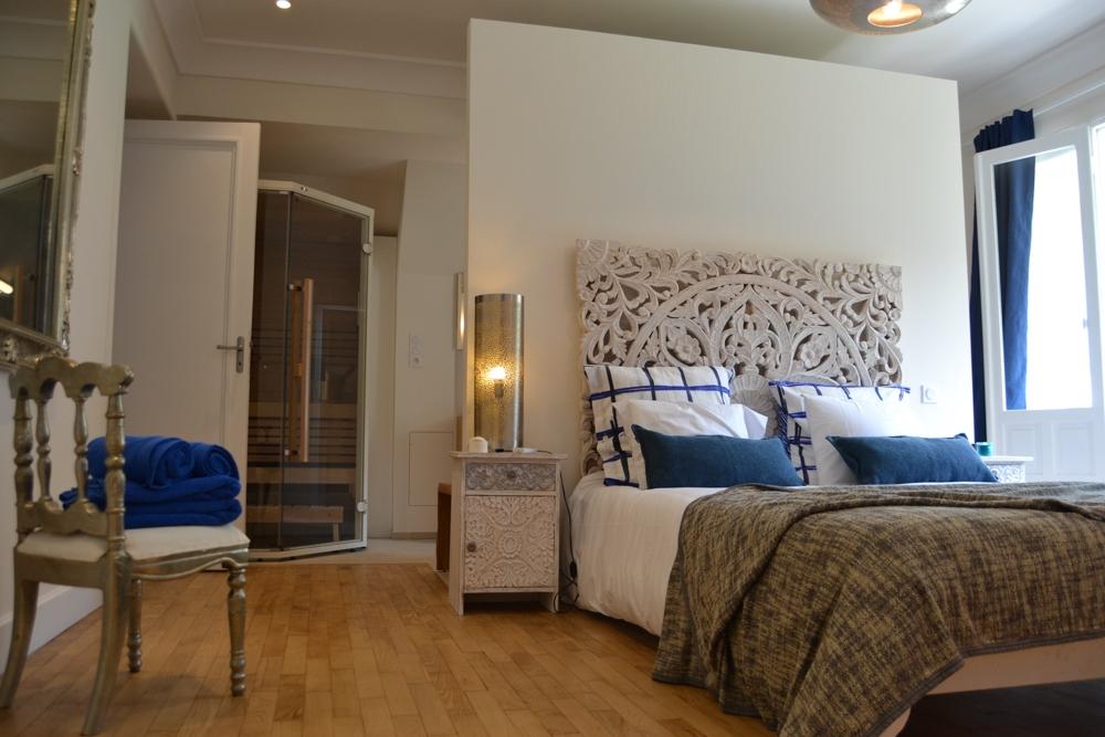 jolie chambre avec hammam et sauna priv proche du mont st michel introuvable. Black Bedroom Furniture Sets. Home Design Ideas