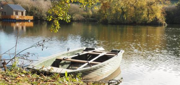 Cabane luxe sur l'eau, proche Etretat