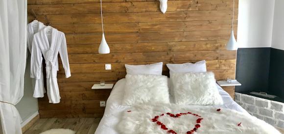 Splendide suite scandinave avec spa intérieur pour 2, Agde