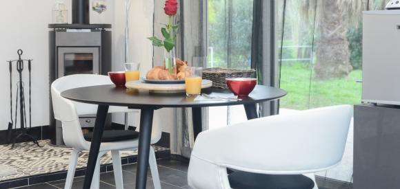 Chambre d'amour avec spa privatif à Hyères, Var