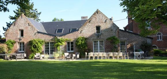 Superbe Gîte nature pour 30 personnes, proche de Paris, Rouen et Lille