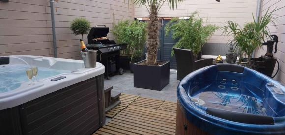 Suite avec jacuzzi privatif, au centre de Tourcoing