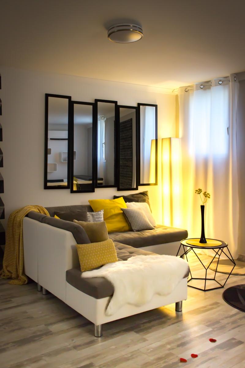 Suite romantique jacuzzi privatif lit rond king size - Chambre avec jacuzzi privatif gard ...