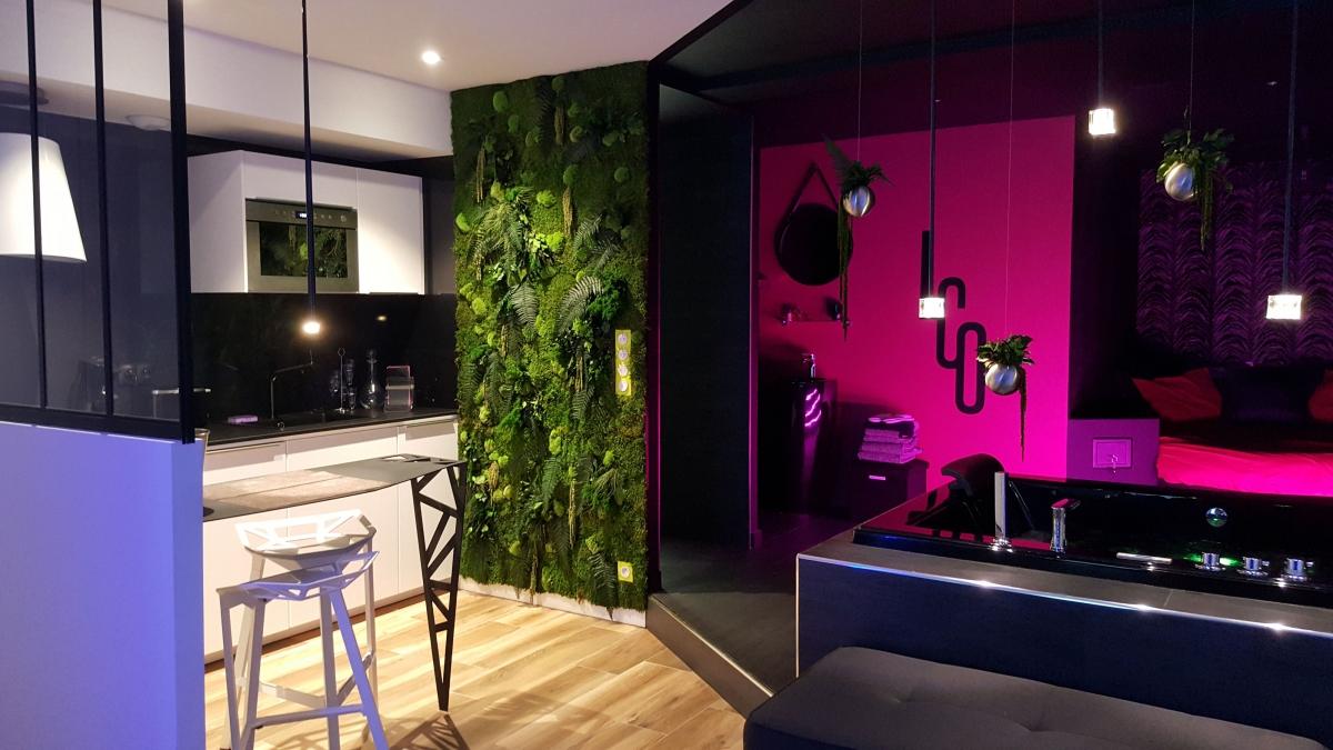 Appartement Avec Jardin Nantes appartement romantique de luxe avec spa, à nantes - introuvable