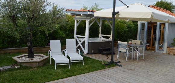 Loft avec spa et sauna privatif, proche du bassin d'Arcachon