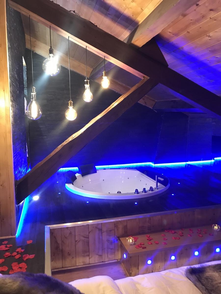 Duplex De Luxe Ambiance Chalet Avec Jacuzzi Et Sauna Privatif